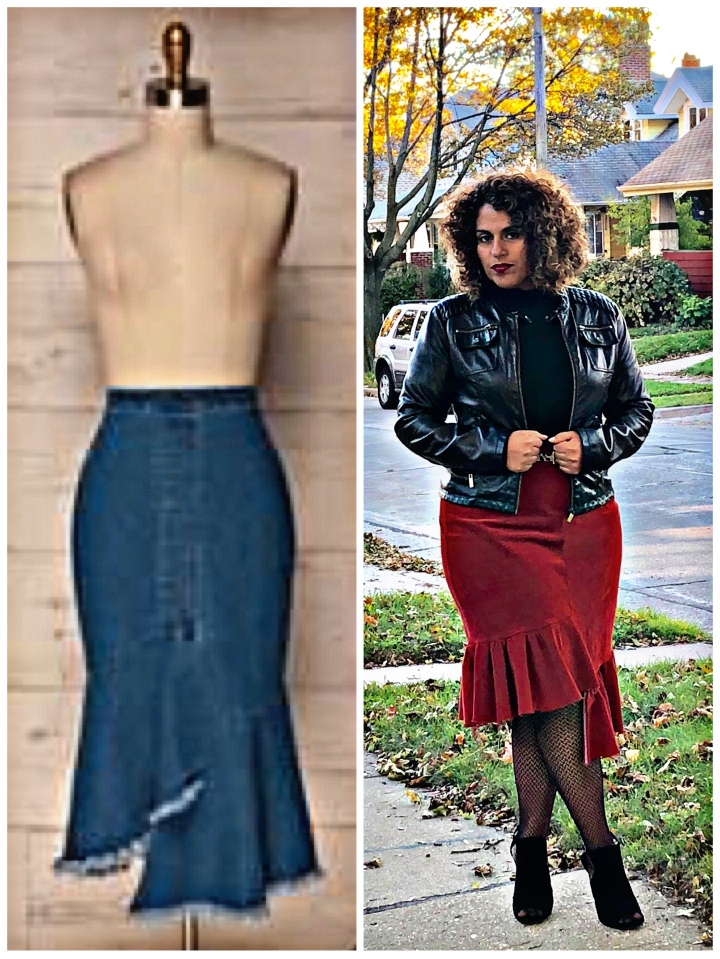 Pattern Hack Tutorial: Asymmetric Pencil Skirt