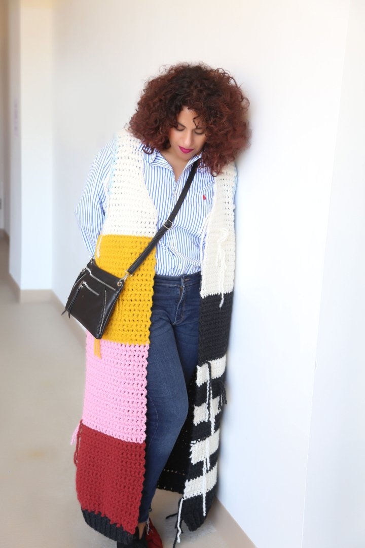 DIY Chunky Crochet Duster