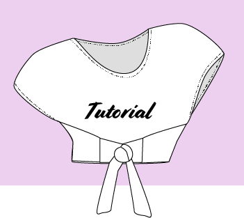 DIY Poncho Wrap Top Tutorial