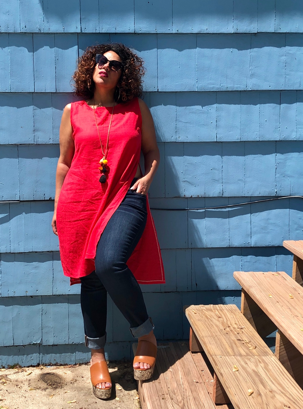 DIY Tunic Top using Simplicity 8094
