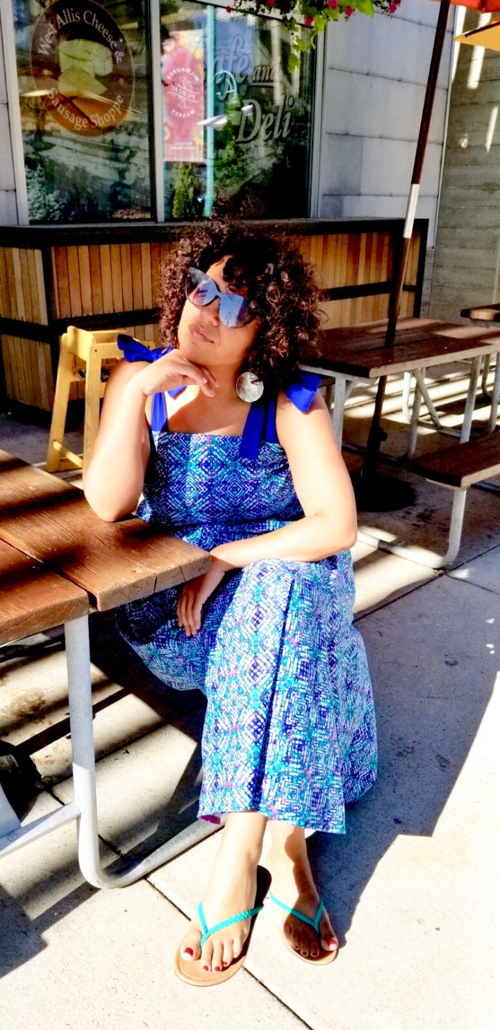 DIY Summer Dress Using Tabitha Sewer's LenaHorne Dress Pattern