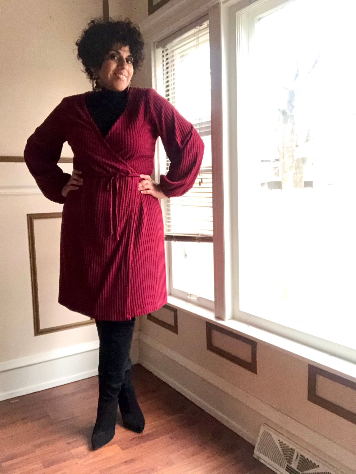 DIY Wrap Dress Using New Look 6581
